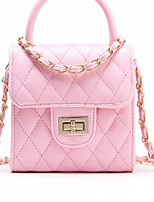 Women-Outdoor-PU-Shoulder Bag-Beige / Pink / Purple / Blue / Red / Black