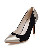Women's Shoes Velvet / Patent Leather the four seasons Heels / Basic Pump / Pointed Toe HeelsOffice & Career / Party