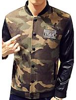DMI™ Men's Mock Neck Color Block Casual Jacket