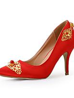 Da donnaMatrimonio / Serata e festa / Formale-Tacchi / A punta-A stiletto-Seta-Rosso
