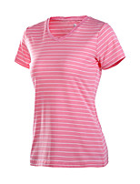 Running T-shirt Women's Quick Dry / Sweat-wicking Running Sports Sports Wear Green / Pink / Blue / Cyan