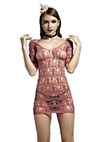 Women's Sexy Temptation Lace Jacquard Net Clothes Suits