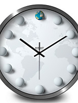 Creative Personality Sphere Earth Wall Clock