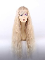 Beautiful Fashion Loose Wave Long Wigs High Temperature Resistance Fiber