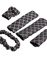 Wine Car Interior Wujiantao Belts Shoulders Mirror Sets The Handbrake Sleeve Gears Sets Hand