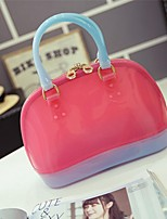 Women-Casual / Outdoor-PVC-Shoulder Bag-Pink / Blue / Green / Gold