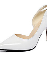 Women's Shoes Patent Leather Summer Heels Heels Casual Stiletto Heel Others Pink / White / Gray