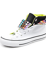 Converse Chuck Taylor All Star Women's Shoes Canvas Outdoor / Athletic / Casual Sneakers Indoor Court White / Navy