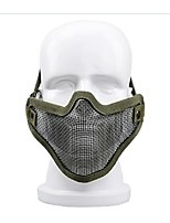 autodefensa protector de alambre de equipo al aire libre media mascarilla de la máscara de protección en muchos equipos de campo de
