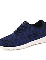 Men's Spring / Fall Tulle Casual Flat Heel Others Black / Blue / Red / Gray / Coral Sneaker