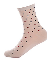 BONAS Women's Acrylic / Cotton Socks 5/box-@1508