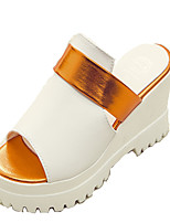Women's Shoes PU Spring / Summer / Fall Platform / Creepers / Slippers Sandals Outdoor / Dress Platform Others