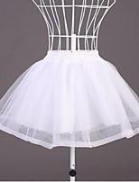 Slips(Tülle,Weiß / Schwarz) -30cm-2-Abendkleid