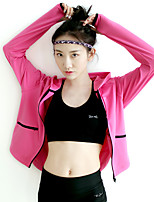 Running Tracksuit Women's Quick Dry / Thermal / Warm / Comfortable Running Sports Sports Wear Pink / Black