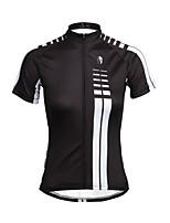 PALADIN Ciclismo Top Per donna BiciclettaTraspirante / Resistente ai raggi UV / Asciugatura rapida / Strisce riflettenti / Tasca