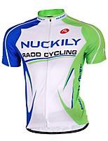 Sportif Vélo/Cyclisme Maillot + Short/Maillot+Cuissard / Hauts/Tops / Bas Homme Manches longues Respirable / Anti-transpirationTérylène /