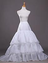 Slips(Polyester,Weiß) -102cm-3-A-Linie