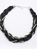 Stylish Atmosphere Braided Necklace Necklace Wild