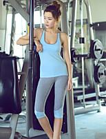 Autres®Yoga Ensemble de Vêtements/Tenus Respirable / Doux Extensible Vêtements de sport Yoga / Pilates / Course Femme