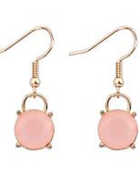 Simple Single Crystal Earrings
