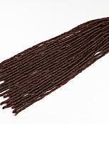 Marrom Havana / Crochê Dreadlocks Extensões de cabelo 20 Inch Kanikalon 20 costa 90g grama Tranças de cabelo