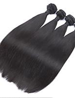 1 Stück Gerade Menschliches Haar Webarten Brasilianisches Haar Menschliches Haar Webarten Gerade
