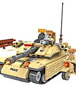 Cogo construction de la série militaire blocs-désertiques commandos-278 pcs
