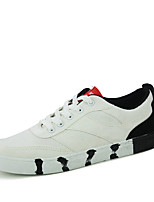 Men's Sneakers Spring / Fall Styles / Round Toe Fabric Athletic Flat Heel Others / Lace-up Black / Green / Red / Gray Sneaker