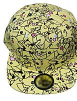 Pocket Little Monster Pika Pika Yellow Cap