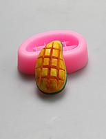 moldes de silicona de mango forma de chocolate, moldes para pasteles, moldes de jabón, herramientas de decoración para hornear