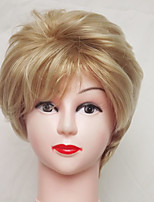 Europe And The United States Wig Fluffy Ms Blonde Short Hair Volume Synthetic Wigs