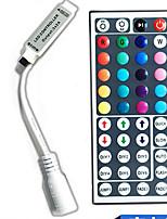 44 touches de couleur télécommande dc5-24v led string rgb