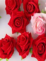 Pétalo / Decoración de Boda Única / Flor Artificial(Rojo / Rosa,Seda) -Tema Floral