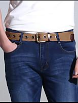 Men Canvas Waist Belt,Vintage / Party / Work / Casual Alloy D6B1P505-1