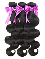 6A Grade Body Wave Hair Weaving Weft Extension 1PC  Women Hair Weave Malaysian Virgin Human Hair Extension