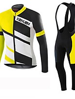 KEIYUEM®Others Winter Thermal Fleece Long Sleeve Cycling Jersey+Bib Tights Ropa Ciclismo Cycling Clothing Suits #W28