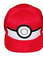 Pocket Little Monster Ash Ketchum Red O Cap