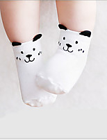 Girls Socks & Stockings,All Seasons Organic Cotton Pink / White / Gray