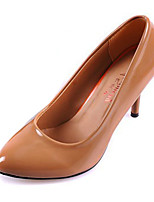 Women's Shoes Patent Leather Summer Heels Heels Casual Stiletto Heel Others Black / Brown / Orange