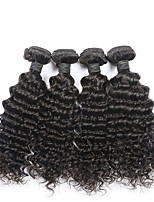 New Arrival Brazilian Deep Wave 4pcs Unprocessed Brazilian Deep Wave Brazilian Wet and Wavy Hair Top Hair Extensions