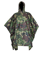 Outdoor 100% Waterproof Riding Hiking Hunting Camping Environmental Mat Men's Women's Raincover Raincoat