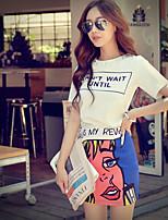 Pink Doll® Women's Print All-match Above Knee Skirt-X15BSK007