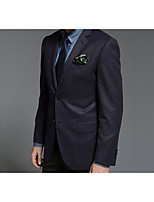 Suits Standard Fit Notch Single Breasted Two-buttons Wool Solid 2 Pieces Straight Flapped None GrayNone