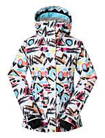 Gsou snow women ski jackets/ snowboard/double snowboard jackets/breathable wearable ski-wear