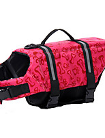 Hunde Schwimmweste Rosa / Hellblau Sommer Knochen Wasserdicht, Dog Clothes / Dog Clothing-Doglemi