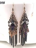 2016 Long Tassel Drop Earrings Vintage Dangle Boho Earrings For Women Statement Maxi Jewelry Boucle D'oreille
