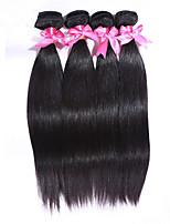 4Pcs/Lot Unprocessed Malaysian Virgin Hair Straight 100% Human Hair Weft Malaysian Hair Weave Bundles