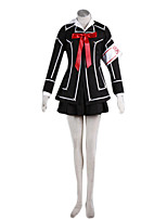 Inspired by Cosplay Cosplay Anime Cosplay Costumes Cosplay Suits Patchwork Black Top For