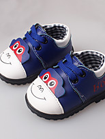 Boy's Flats Spring / Fall First Walkers Leather Casual / Dress Others Blue / Yellow / Red