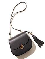 Women-Formal-PU-Shoulder Bag-Pink / Black